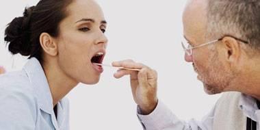 ангина картинка симптомы лечение