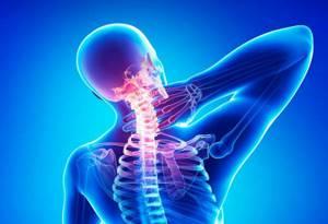 шейный остеохондроз симптомы лечение и массаж