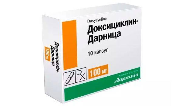 укусил клещ симптомы и лечение антибиотиками