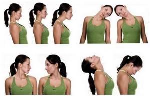 упражнения шейный остеохондроз симптомы лечение