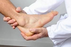 воспаление голеностопа симптомы и лечение