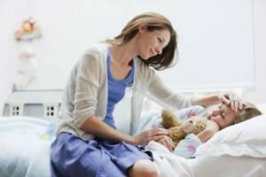 грипп у ребенка лечение симптомы