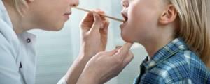 катаральная ангина у ребенка симптомы лечение