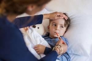 орви у годовалого ребенка симптомы лечение