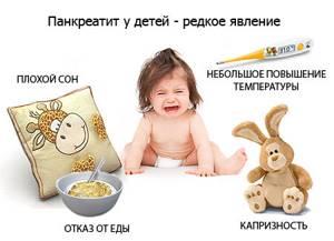 поджелудочная у ребенка симптомы и лечение