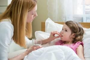 у ребенка температура без симптомов лечение