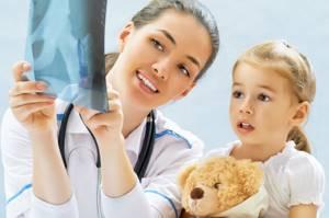 ушиб ключицы у ребенка симптомы лечение