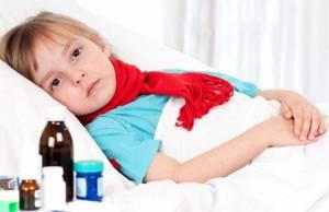 ангина у ребенка 10 лет симптомы и лечение