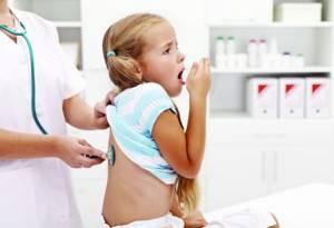 бронхит у ребенка 7 лет симптомы и лечение