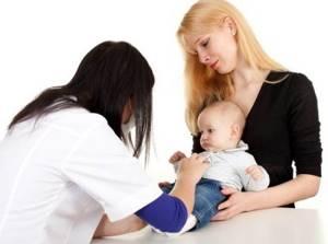 диатез у ребенка 1 месяц симптомы и лечение