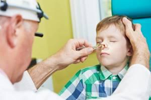 гайморит у ребенка 2 лет симптомы лечение