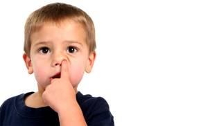 герпес в носу у ребенка симптомы и лечение