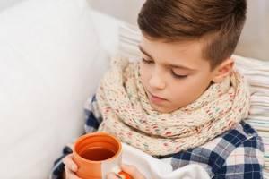 грипп у ребенка 3 лет симптомы и лечение