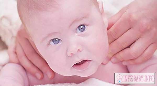 кривошея у ребенка 3 месяца симптомы лечение