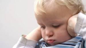 отит симптомы у ребенка 4 года лечение