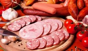 отравление колбасой симптомы у ребенка лечение