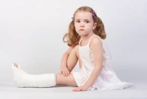 растяжение мышц ноги у ребенка симптомы и лечение
