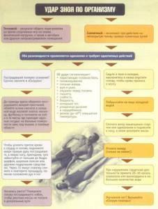 симптомы и лечение солнечного удара у ребенка
