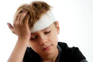 сотрясение головного мозга у ребенка симптомы лечение