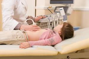 увеличен желчный пузырь у ребенка симптомы и лечение