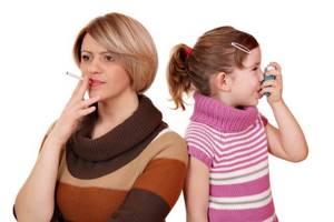 астма симптомы лечение у детей