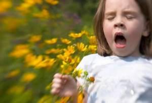 детская аллергия симптомы лечение