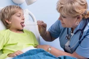 детская скарлатина симптомы и лечение