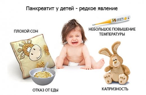 детский панкреатит симптомы и лечение