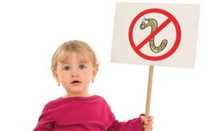 глисты симптомы у детей лечение комаровский