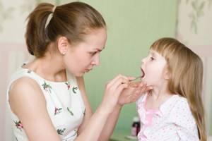 горло у детей симптомы и лечение