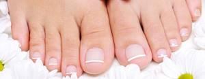 грибок ногтей на ногах симптомы лечение в домашних условиях
