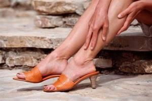 хондроз ноги симптомы и лечение