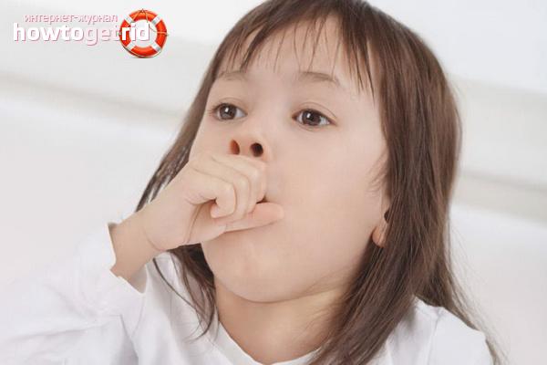коклюш у детей симптомы лечение народными