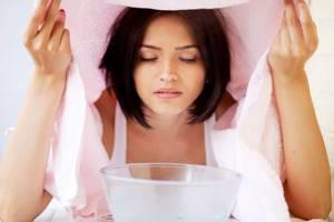 насморк симптомы лечение в домашних условиях