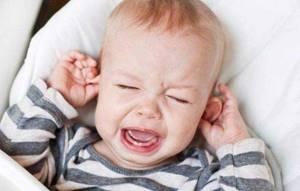 отит у ребенка 4 года симптомы и лечение