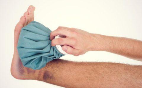 перелом большого пальца ноги симптомы и лечение в домашних