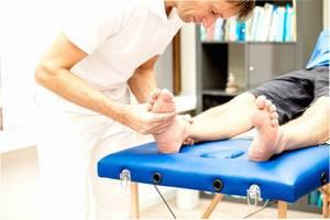 перелом мизинца ноги симптомы и лечение