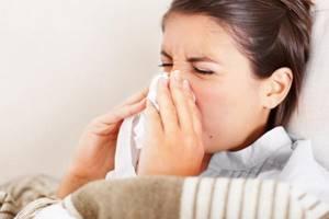симптомы насморк и чихание лечение