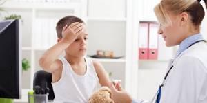 сотрясение мозга симптомы лечение у детей