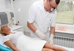 варикозное расширение вен на ногах симптомы и лечение уколы