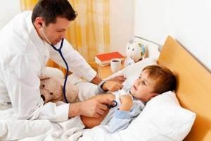 вирусная инфекция симптомы у детей лечение