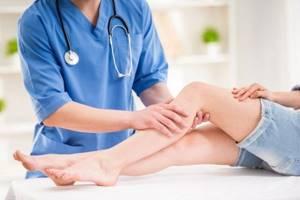 закупорка вен на ногах симптомы и лечение