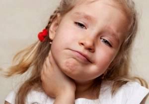 лимфоузлы воспаление симптомы лечение у детей