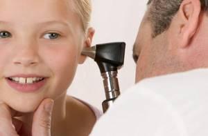 отит детский симптомы лечение